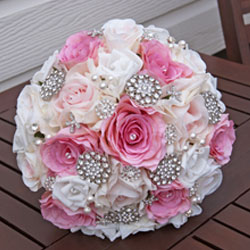 Jeweled bouquets