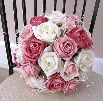 Pink Bouquet for Weddings