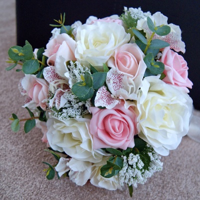 Brides Pretty Pink Bouquet