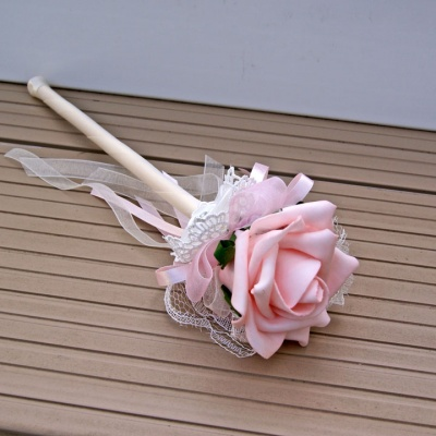 Fairy Wand of Pink Foam Roses