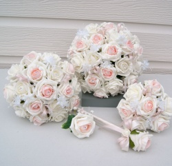 Emily Rose Blush Wedding Flower Package